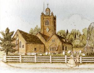 The church in 1812