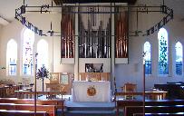 Inside St Mary's Parish Church Woodford