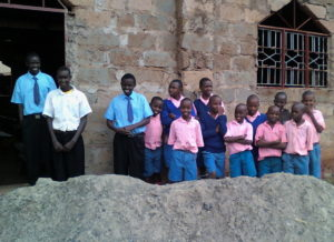 Makutano orphans by church