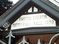 Woodford Memorial Hall History